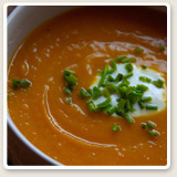 image gallery Spicy Butternut Squash Soup