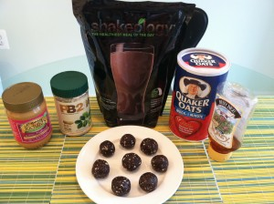shakeology balls 300x224 Easy Travel Recipes & How To Stay On Track When Business Requires You Travel